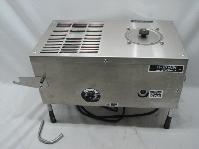 SS 5D Midi Water Distiller http://www.ebay.com/itm/MIDI-STILL-SS-5D-HOME-WATER-DISTILLER-STAINLESS-STEEL-BREWING-NEED-LOVE-/260877305913