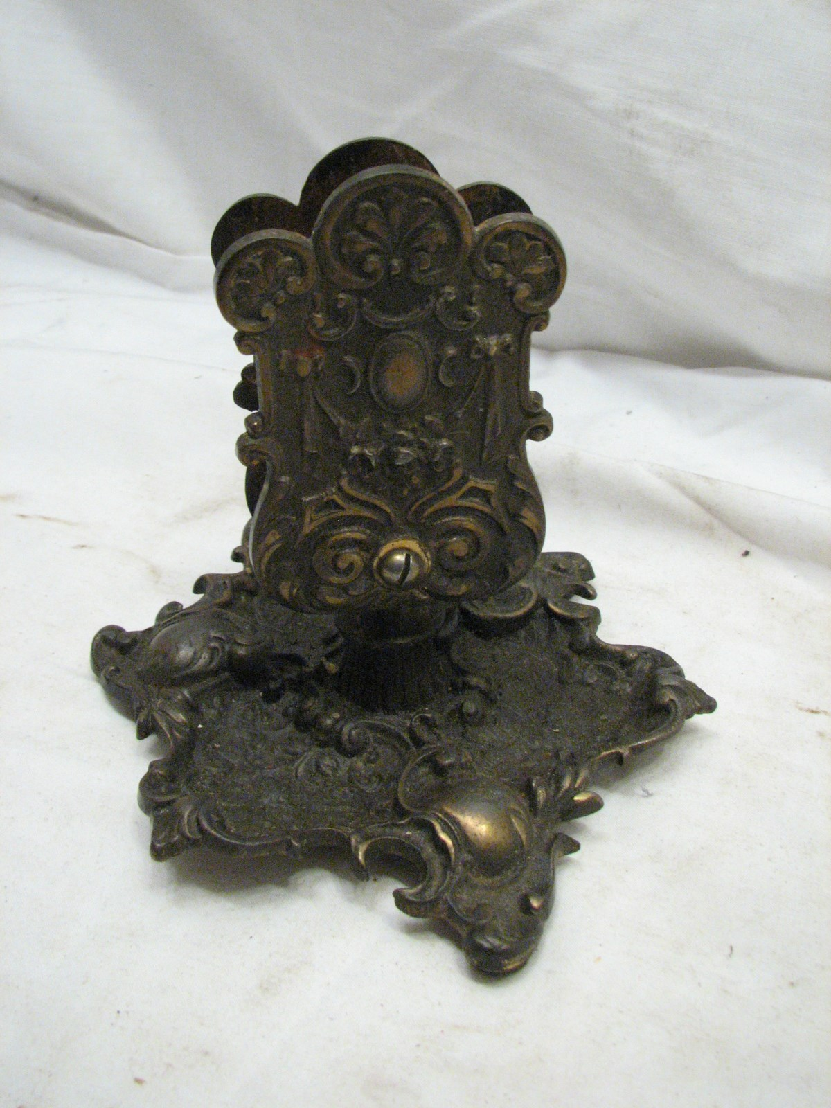 Antique Cast Iron ~ Antique bradley hubbard victorian art nouveau cast iron