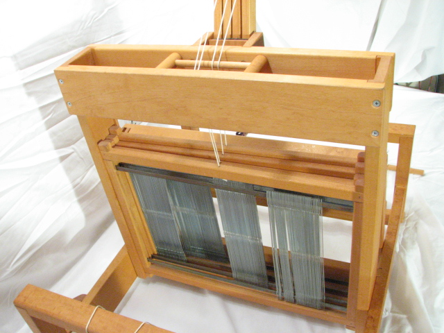 Wooden Spindle Table ~ Schacht spindle table top weaving loom wooden tool ebay