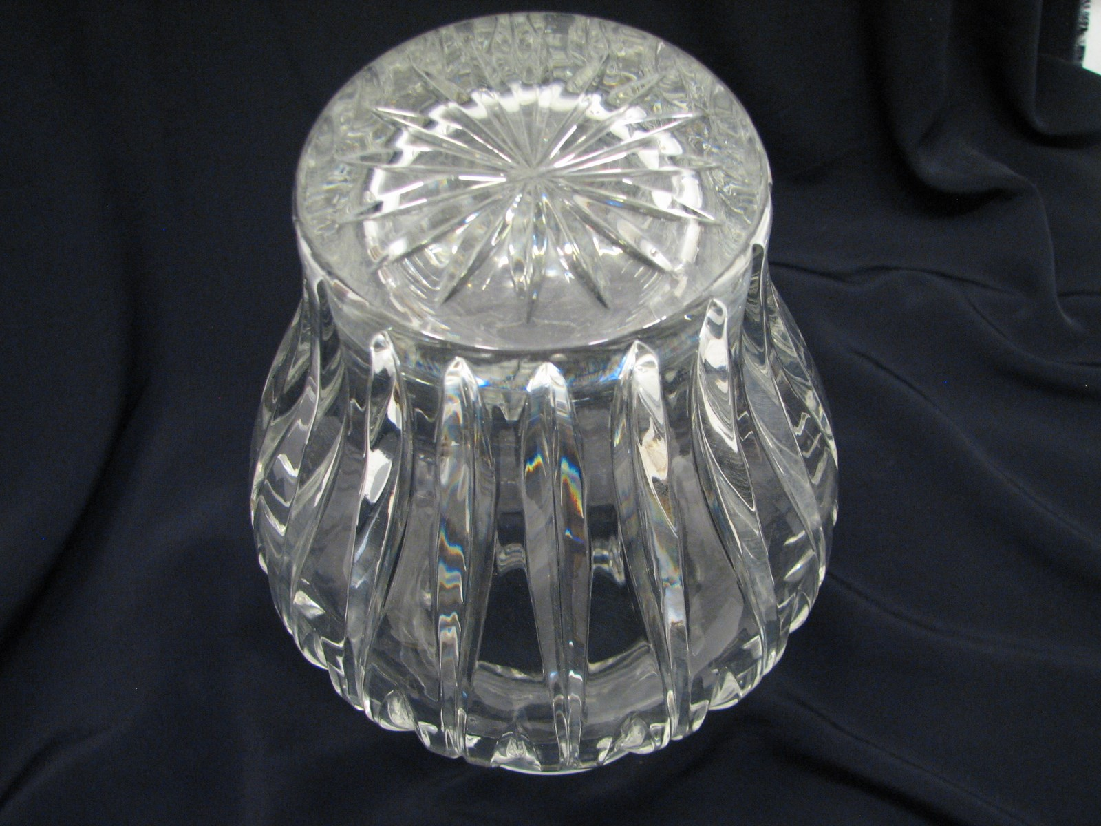 miniatura 5 - Lovely Waterford Marquis Crystal Glass Floral Vase Ornate Ribbed